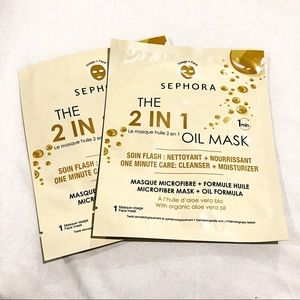 SEPHORA COLLECTION The 2 in 1 Oil Mask  2 Pack